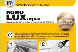 Uputstvo KOMOLUX Aqua